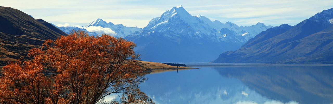 The great Mount Cook of New Zealand