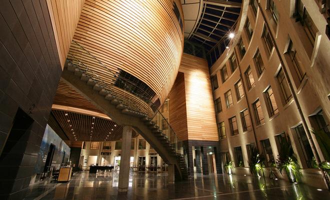 El museo fue completamente renovado hace unos años y su arquitectura es única en el mundo.