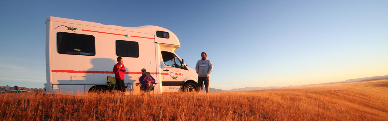 You can travel by car or camper on the country's roads.