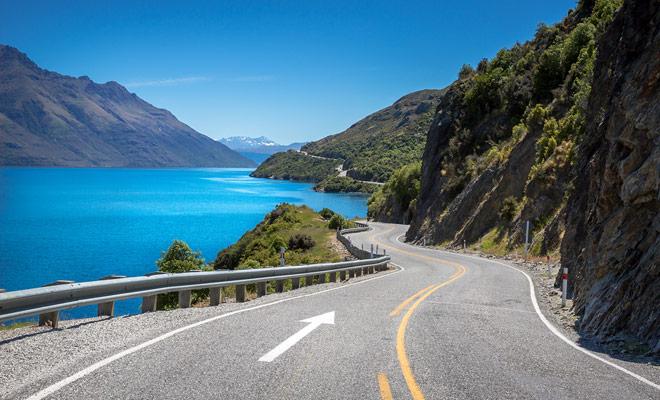 Al preparar su itinerario en Nueva Zelanda, se recomienda ahorrar tiempo para improvisar pausas a lo largo del camino para admirar el paisaje. Y usted puede confiar en mí en esto, las oportunidades no serán raras!