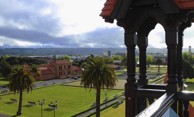 El museo de Rotorua es un pequeño museo cuyas exposiciones son sin embargo muy exitosas. En la planta superior del museo, se pueden admirar los jardines del Jardín del Gobierno y el lago Rotorua.