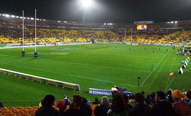 Si el legendario Allblacks no está en el campo, y si no es un partido decisivo, los estadios rara vez están completamente reservados en Nueva Zelanda. Demasiado malo para el ambiente!