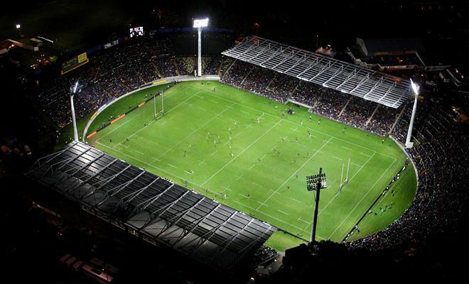 Auckland Eden Park es el estadio más grande de Nueva Zelanda y puede acoger a 60.000 espectadores para los principales eventos internacionales de Rugby o Cricket.