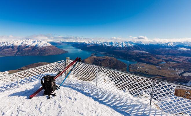 Nueva Zelanda tiene áreas de esquí que, si no son tan grandes como en Europa, son quizás las más espectaculares del mundo.