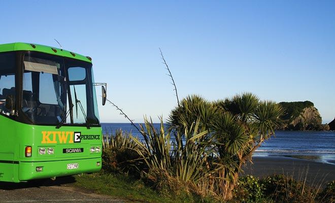 La red de autobuses de Nueva Zelanda cubre todo el país. Contrariamente a la creencia popular, el entrenador no es particularmente económico y sólo una tarjeta de fidelidad puede ayudarle a ahorrar dinero. Pero todavía tiene que hacer un mínimo de viajes durante el año.