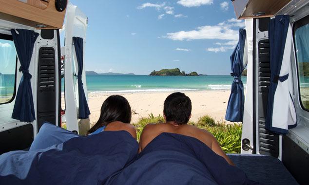 Prenota il tuo camper per la Nuova Zelanda senza un'agenzia di viaggi.