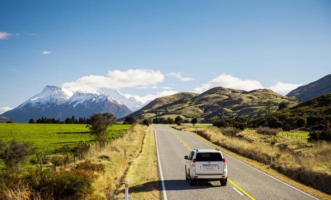 Voor een eerste verblijf is de camper al een beetje intimiderend. Een auto is waarschijnlijk meer geschikt voor een eerste verblijf in het land van de Kiwi's.