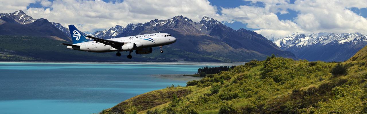 Nueva Zelanda Airlines, Singapore Airlines y Emirates.