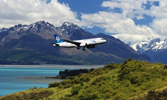 Nuova Zelanda Airlines, Singapore Airlines e Emirates.