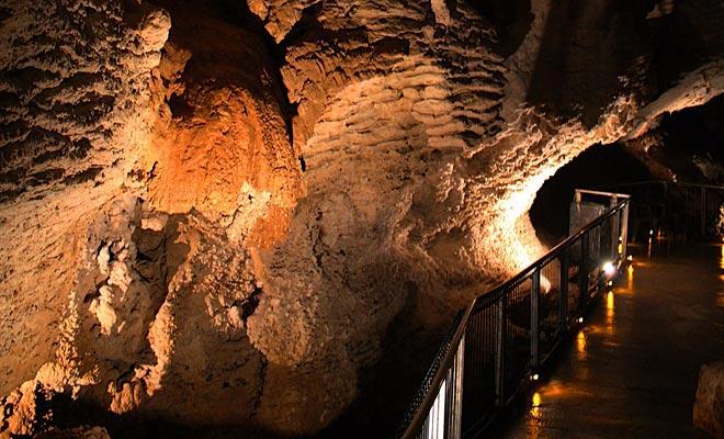 La cueva de Glowworm bodega ha sido muy bien establecidos. Algunas personas encuentran que la explotación es demasiado comercial.