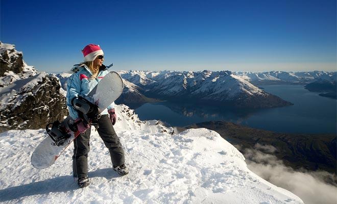 De reputatie van Wanaka als skigebied is niet te maken. Professionele atleten komen op de hellingen van Cardrona en Treble Cone trainen.