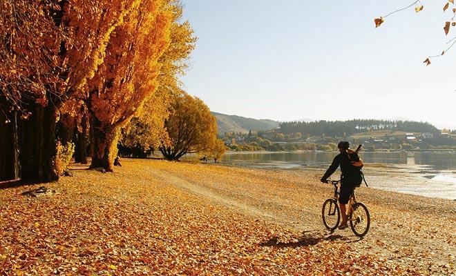 Over het algemeen is de beste tijd om Wanaka te bezoeken in de herfst.