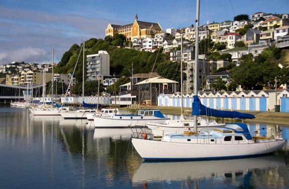 Oriental Bay heeft een van de mooiste stranden van Wellington. Er worden regelmatig beachvolleybalwedstrijden gehouden. De heuvel heeft uitstekende Victoriaanse huizen.