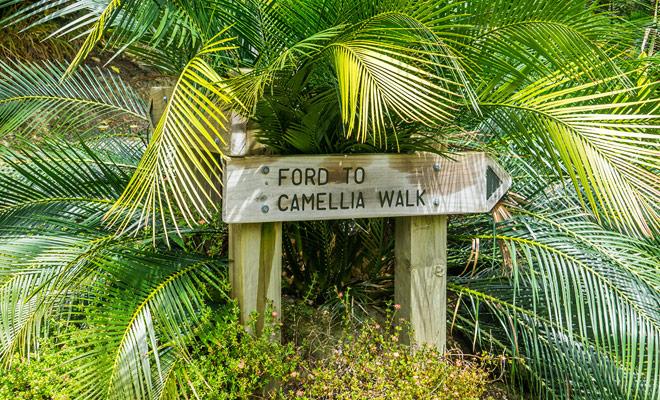 De Quarry-tuinen zijn tropische tuinen die door vrijwilligers worden onderhouden. Er is ook een kleine cafe ter plaatse.
