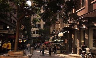 De nabijheid van de natuur laat de stad onder de meest ecologische ter wereld staan.