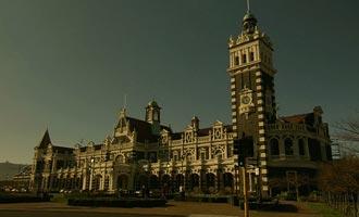 Dunedin es la capital de Otago en la Isla Sur.