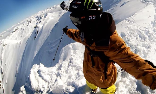 Para esquiar en Mt Cook, tienes que ser dejado en una pendiente en helicóptero.