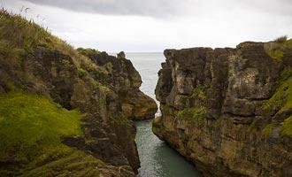 De Panacake Rocks zijn stapels sedimenten die getuigen van de evolutie van de tijd.
