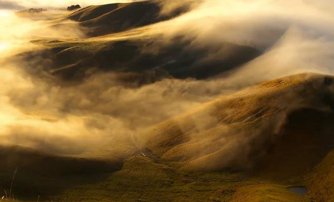 Een perfect voorbeeld van de veelheid van landschappen van Aotearoa.