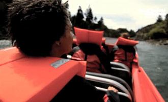 La compañía de jet boat Thrillseekers organiza excursiones cerca de Hanmer Springs.
