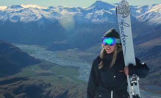 Esta película corta te introduce a la estación de esquí de Treble Cone, una de las más famosas del país.