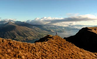 Red Bull sponsor vaak top atleten. Sommigen dalen de bergen af met mountainbiken langs de steile kliffen.