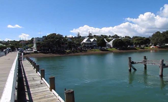 La ville de Russell est la plus belle bourgade de la baie des Îles.
