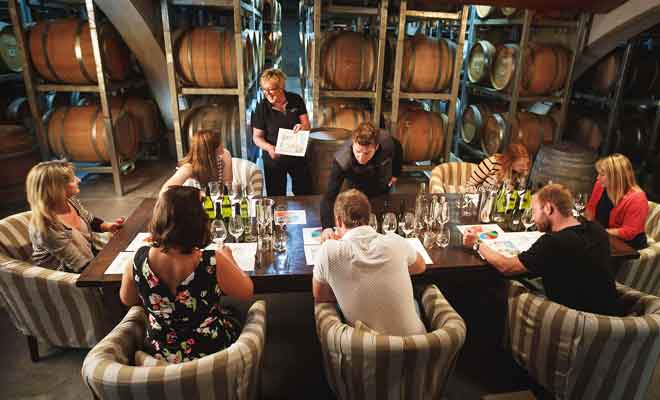 Dégustations de vins chez Wither Hills
