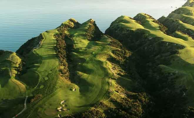 Visite du terrain de golf