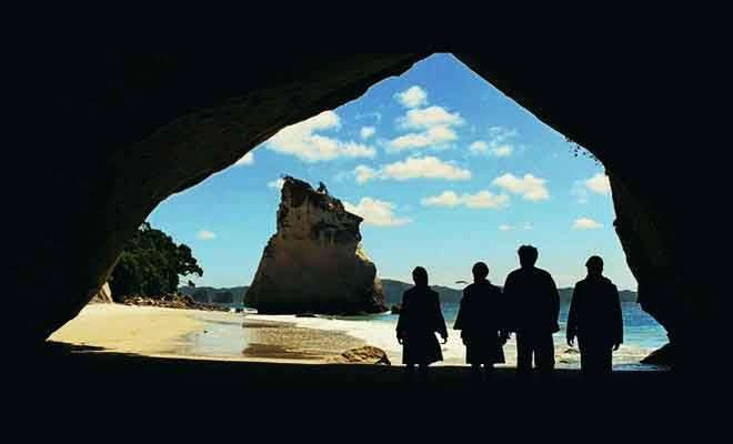C'est la scène d'ouverture du Prince Caspian qui a été filmé en Nouvelle-Zélande.