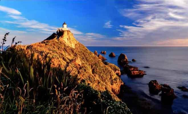 Timelapse filmé près du phare