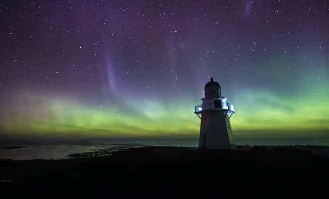 Le spectacle magique des aurores australes du Southland