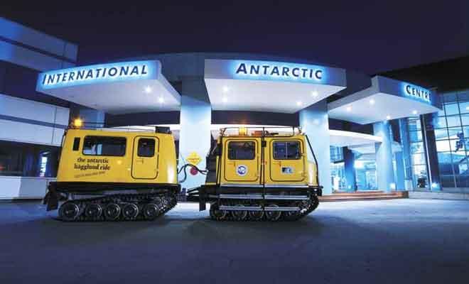 Activités dans l'International Antarctic Centre