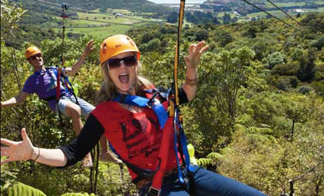Zipline Christchurch