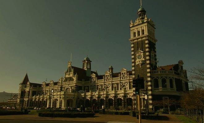 Dunedin est la capitale de l'Otago sur l'île du Sud.