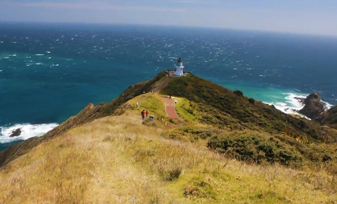 La Nouvelle-Zélande filmée par Gaël.