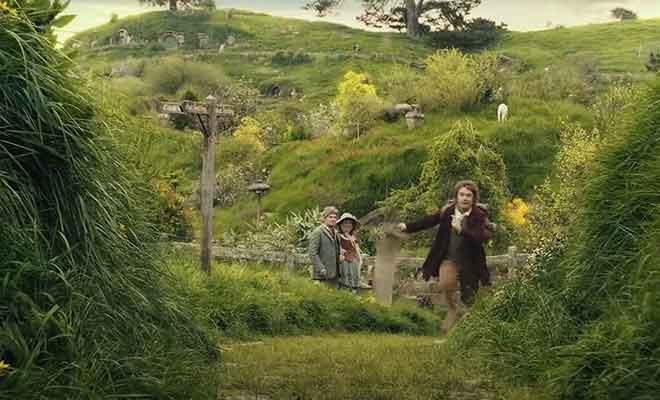 Bilbo Baggins part à l'aventure