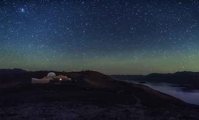Nuit au lac Tekapo