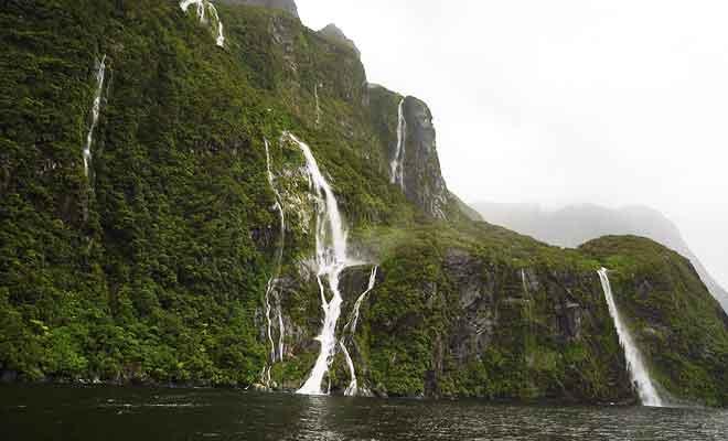 Les cascades et chutes