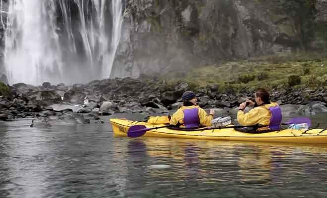Sortie avec Rosco Milford Kayak