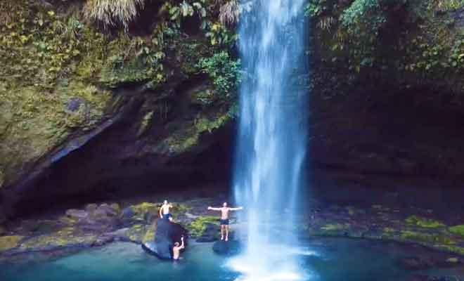 Découverte des Omanawa Falls