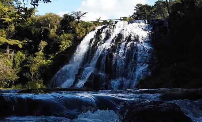 Visite des Owharoa Falls