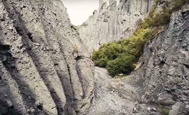 Exploration des Pinnacles avec un drone