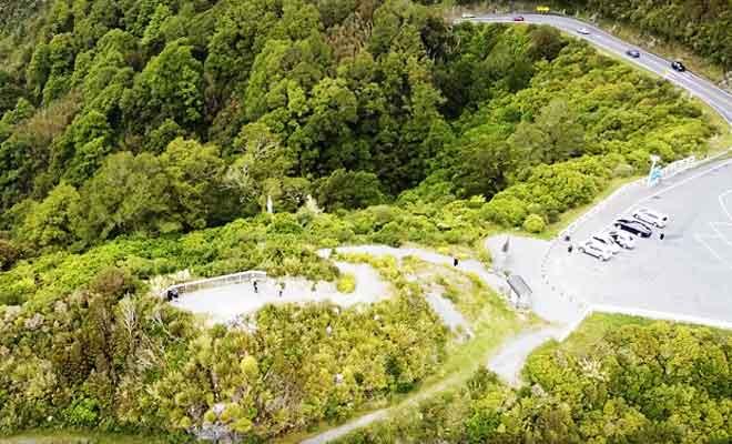 Survol des Rimutaka Hills avec un drone