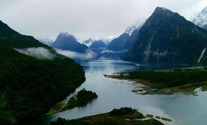 Le Milford Sound est l'un des plus beaux fjords au monde.