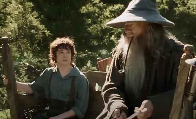 Scène culte avec Gandalf