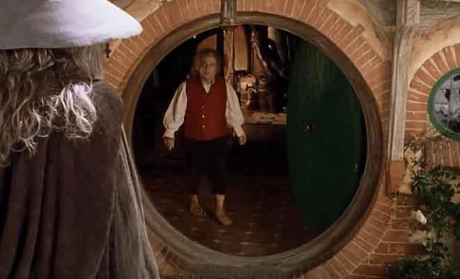 Retrouvaille Gandalf et Bilbo