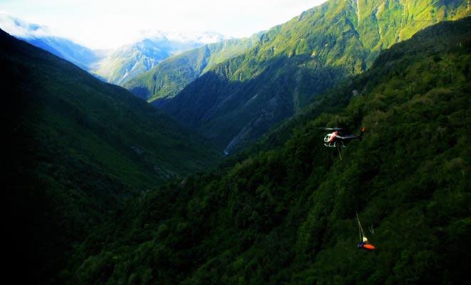 La Nouvelle-Zélande est devenue le terrain de jeu des passionnés de sports extrêmes.