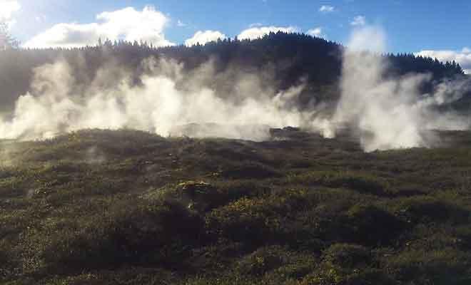 Visite parc géothermique