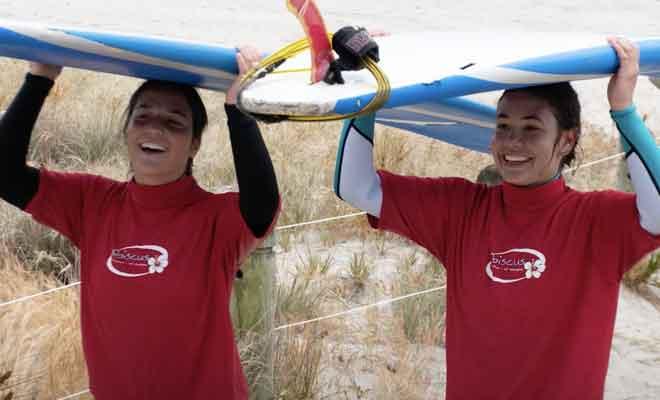 Surf avec Hibiscus
